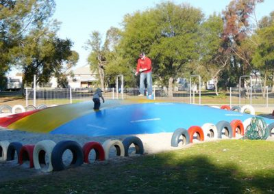 port broughton caravan park jumping pillow
