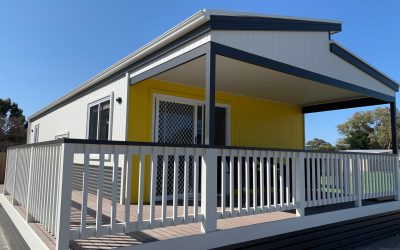 3 Bedroom, 2 bathroom beachfront Cabins – July 2020