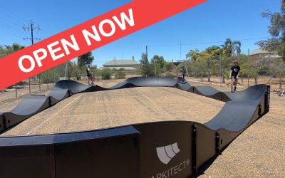 Modular Pump Track – OPEN NOW