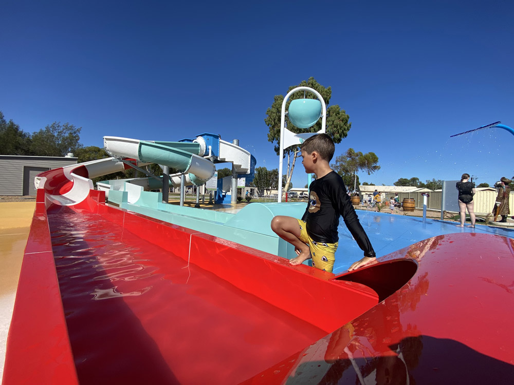 Waterslides and Splash Park – OPEN NOW